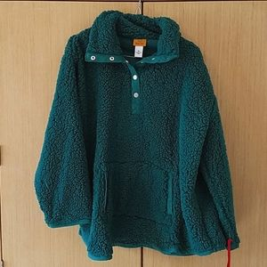 Ruby Rd. Sherpa Pullover NWT